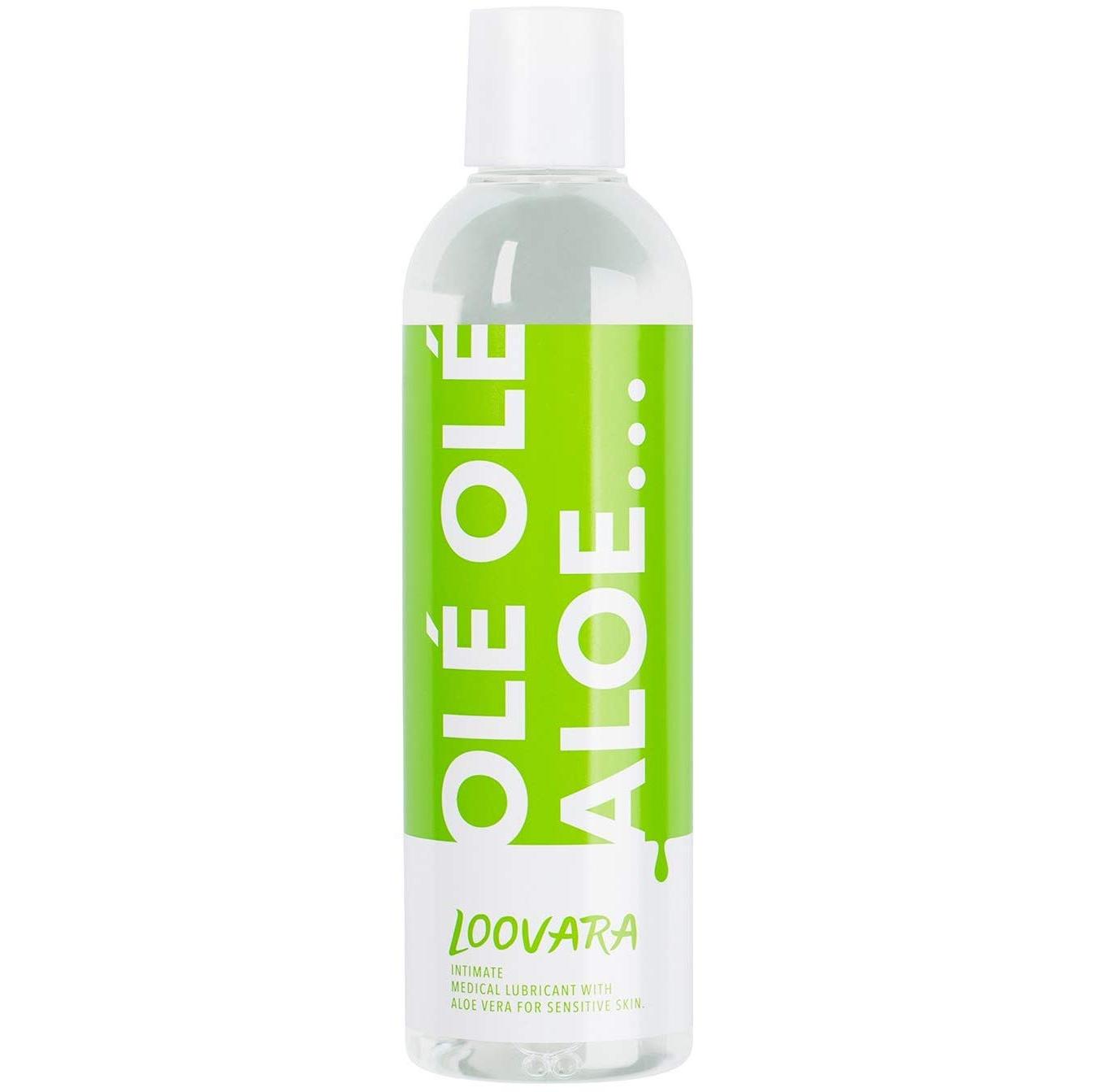 Gel lubrifiant Loovara OleOle Aloé à base d'eau, avec de l'Aloé Vera pour peaux sensibles 3